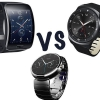 LG G montre r vs moto 360 vs samsung engrenage s - la guerre entre les meilleurs smartwatches