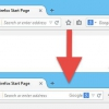 Combinez firefox barre d'adresse et la barre de recherche en un seul comme le chrome