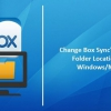 Comment changer case emplacement du dossier par défaut de synchronisation dans Windows ou Mac