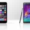 Iphone 6 plus vs Samsung Galaxy Note 4 - un duel entre phablets les plus populaires