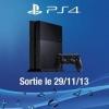 Mise à jour date de sortie de PS4