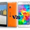 Samsung galaxy noyau 2 vs Lumia 535 - top bataille entre smartphones dual-sim