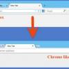 5 étapes pour faire de votre apparence et se sentir comme Firefox Google Chrome
