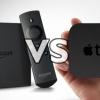 Amazon feu tv vs Apple TV - qui streamer vidéo devrait rester dans votre salon?