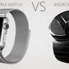 Usure Android vs montre de pomme - le meilleur smartwatch pour vous garder en forme