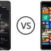 Asus zenfone 2 vs Nokia Lumia 830, Xiaomi Mi 4 et HTC Desire 820S spécifications