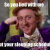 """Découvrez l'horaire de sommeil de quelqu'un en utilisant """"le temps de sommeil"""""""