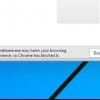 Comment faire pour désactiver les logiciels malveillants de chrome ou de sites avertissements de phishing