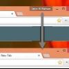 Comment cacher nouvel utilisateur menu chrome (et votre nom) d'un côté en haut à droite