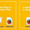 Comment enregistrer des pages Web en tant que fichier unique sur firefox (en mht ou le format maff)