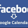 Comment synchroniser les anniversaires facebook avec Google Calendar