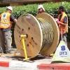 Installation du câble de fibre optique
