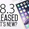 Ios 8.3 beta téléchargement gratuit et installer la dernière version