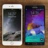 Iphone 6 plus vs Samsung Galaxy Note 4 - 2015 phablets meilleure comparaison