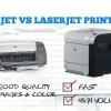 Imprimante laser et le jet d'encre