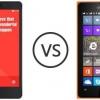 Microsoft Lumia 435 vs xiaomi redmi 2 - Le challenger de xiaomi pour Microsoft