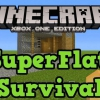 Minecraft Xbox One et PS4 entrant mondial superflat