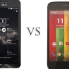 Moto g 2014 vs asus zenfone 2 - le plus grand phare de Motorola?