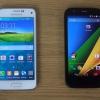 Moto g 2014 vs la mini-samsung galaxy - 2015 meilleurs smartphones de milieu de gamme