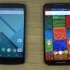 Nexus 5 vs Moto X 2014 - meilleures caractéristiques et comparaison de prix