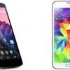 Nexus 5 vs Samsung Galaxy S5 - dont l'un est le gagnant?