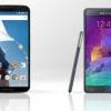 Nexus 6 vs Samsung Galaxy Note 4 - qui est le gagnant?