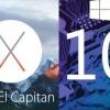OS X El Capitan vs 10 fenêtres - qui bureau OS préférez-vous?