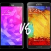 Samsung Galaxy Note 3 vs Samsung Galaxy Note 4