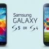 Samsung Galaxy S4 vs Galaxy s5