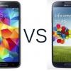Samsung Galaxy S4 vs Samsung Galaxy S5- comment se comparent-ils?