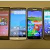 Samsung galaxy s5, lg g3, HTC One M8 et sony xperia z2 - top 4 smartphones de 2014