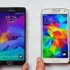 Samsung Galaxy S5 vs Galaxy Note 4 - points perforés ou faux cuir?