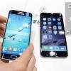 Bord de Samsung galaxie vs Apple iPhone 6 - dont l'un est victorieux?