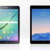 Onglet Samsung Galaxy S2 vs 9,7 air iPad 2 - top spécifications et les meilleurs prix de comparaison