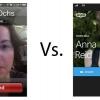 Skype vs FaceTime - dont un que vous utilisez pour faire des appels vidéo?