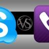 Skype vs Viber - les deux offrent des appels voip gratuits, mais que l'on domine le marché?