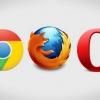 Uc navigateur Google Chrome vs vs mini opéra - comparateur de haut entre les navigateurs mobiles