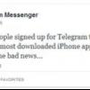 Une comparaison de Viber téléchargement et télégramme gratuitement Messenger - dont l'application pour vous?