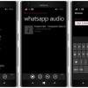 WhatsApp 02/12/44 téléchargement pour Windows Phone - sauvegarder les fichiers mp3 dans le dossier de l'image