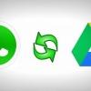 WhatsApp 12/02/45 mise à jour de apk téléchargement gratuit et enregistrer les conversations sur Google Drive