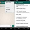 WhatsApp fonctionnalité d'appel vidéo ajoutée le dernière version de apk