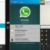 WhatsApp téléchargement gratuit 02/11/14 beta apk sur un terminal BlackBerry