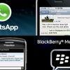 WhatsApp téléchargement gratuit dernière apk sur un terminal BlackBerry - les appels vocaux bientôt?