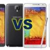 Samsung Galaxy Note 3 vs 3 Note néo - versions haut de la célèbre phablet
