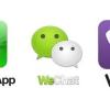 WhatsApp Messenger vs vs Facebook Hangouts Google vs vs Skype Viber télécharger gratuitement - la bataille de voip marche sur