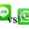 WhatsApp vs ligne - appelez voix et la vidéo appelant gagnant