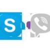 WhatsApp vs Viber voix libre appelant les services VoIP