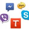 WhatsApp vs Viber vs vs Skype Facebook Messenger - télécharger gratuitement le meilleur