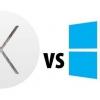 Windows 10 vs OS X Yosemite - la bataille entre les géants