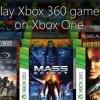 Xbox une mesure d'exécuter jeux Xbox 360 - fonctionne sous Microsoft plus de sony